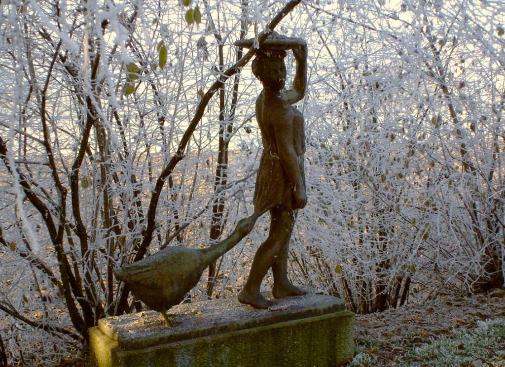 statue v seite